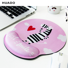 Mouse pad Soft Memory foam Computer Mouse Mat Ergonomic Anti-skid rubber Mousemat Hand Wrist Support Healthy Mousepad for Gaming 3d metal alloy ergonomic mouse pad arm rest wrist stand gaming mousepad table hand drag wrist support for computer officer gamer