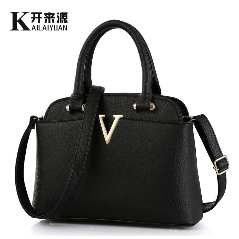 KLY 100% Véritable cuir Femmes sacs à main 2018 Nouveau MS frais paquet de moyen de mode sacs à main Épaule Messenger Sac À Main