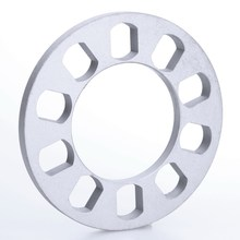 1Pc 5 hole 12mm Aluminum Auto ET Wheel Spacer Gasket Adapter FOR 5X114 5X120 5X112 5X108 5X110 5X135 5X130 Car Styling Accessory
