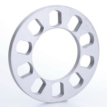 1Pc 5 hole 12mm Aluminum Auto ET Wheel Spacer Gasket Adapter FOR 5X114 5X120 5X112 5X108 5X110 5X135 5X130 Car Styling Accessory(China)