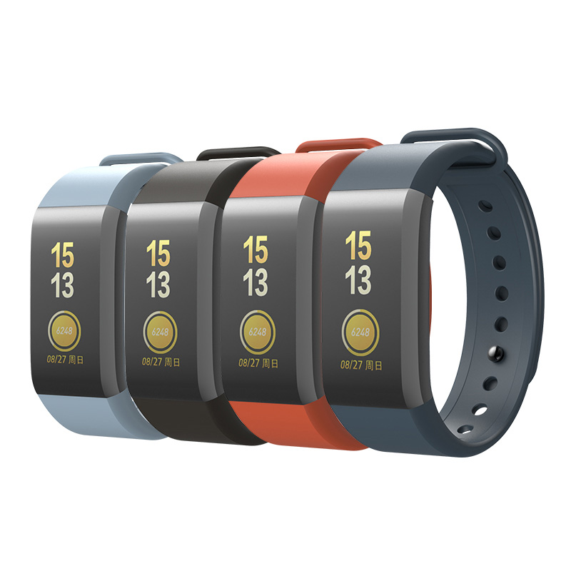 SIKAI Wrist Strap For Amazfit Cor Band Replaced Cor Band For Xiaomi Huami Midong Amazfit Cor Band TPE Material Wristband A1702