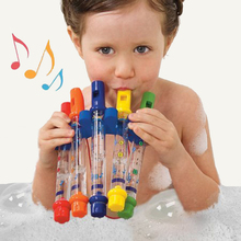 Kids Children Bath Tub Playing Musical Toy Colorful Water Flutes, Tub Tunes Toy Fun Music Sounds Toy Gift