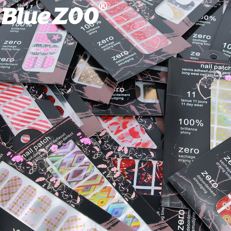 Wholesale Metal Nail Wraps Full Cover Adhesive Nail Art Decorations Stickers Vinyls for Manicure Accessoires Nails Decals 10 sheets lot charming nail stickers full wraps flowers water transfer nail decals decorations diy watermark manicure tools
