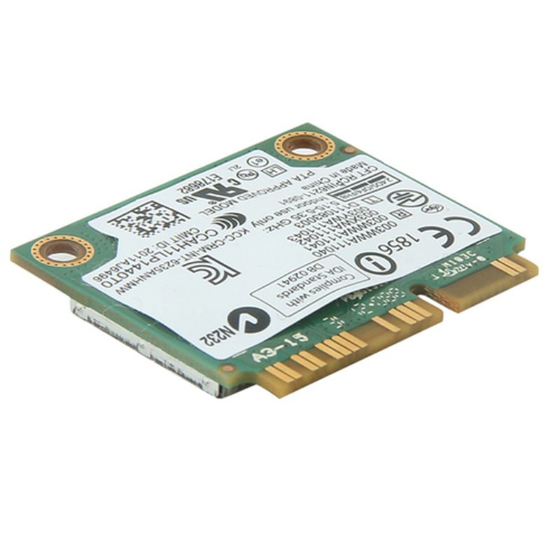 Dual Band 300Mbps 6235ANHMW Mini PCI E Laptop Wireless WiFi Card For Intel  Centrino Advanced N 6235 Bluetooth 4 0 Network Card