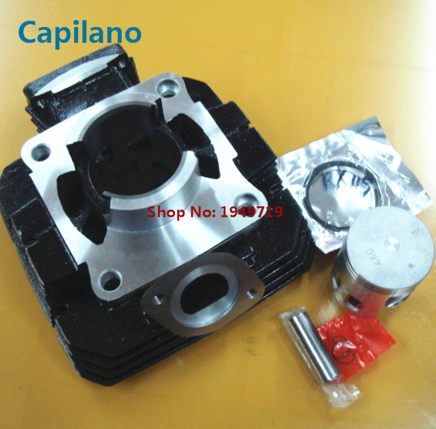 US $106 0 |motorcycle cylinder block engine block with piston kit RX115  RXS115 for YAMAHA classic 115cc RX 115 2 stroke engine parts-in Engines  from