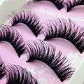 5Pair Thick Fake Eyelashes Natural False Eyelashes Volume Lashes Artificial Eyelashes Extensions False Lashes Makeup Lashes