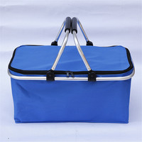 Cooler Bags Thermal For Lunch High Capacity Ice Pack Women Picnic Storage Bags Oxford Aluminum Foil