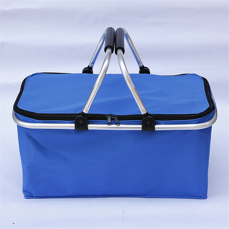 купить Cooler Bags Thermal for Lunch High Capacity Ice Pack Women Picnic Storage Bags Oxford Aluminum Foil Folding Insulation Food Bags по цене 1077.38 рублей