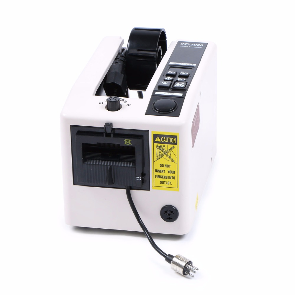 Automatic Tape Dispenser Electric Tape Cutter JF-2000 220V(2Max Width 39Max Length)Automatic Tape Dispenser Electric Tape Cutter JF-2000 220V(2Max Width 39Max Length)
