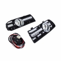 Auto LED Car Bumper Grille DRL Daytime Running Light Driving Fog Lamp Source Bulb For VW