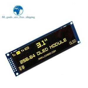 Image 3 - ЖК дисплей TZT с реальным OLED дисплеем 3,12 дюйма, 256*64, 25664 точек, графический модуль, экран LCM, экран SSD1322, контроллер с поддержкой SPI