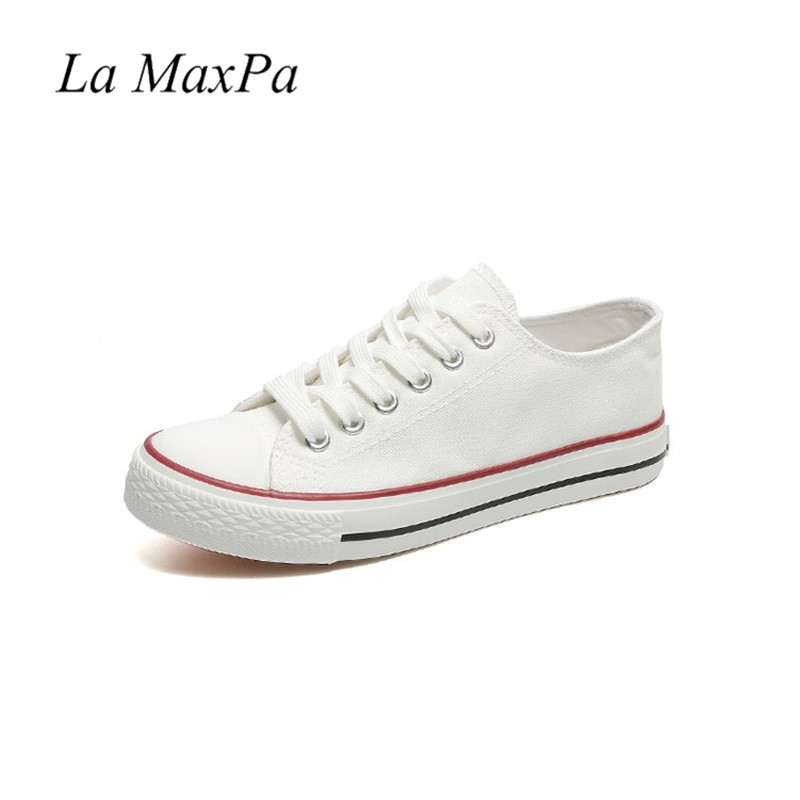 Women Casual Sneakers 2018 New White Canvas Shoes Female Spring Summer Woman Students Walking Shoes Zapatos Tenis Feminino women casual shoes canvas shoes women sneakers zapatos fashion summer spring breathable comfortable footwear tenis feminino my4