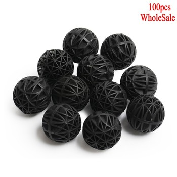 100 Pcs 16mm Aquarium Bio Balls