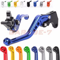 10 Colors For BMW G650 X Xchallenge Xcountry Xmoto F650CS G650GS CNC Motorcycle Short Long Lever