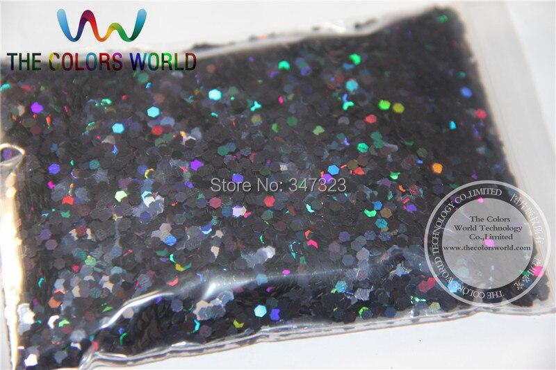 2 мм голографический черный цвет блестки посыпанные блестки для дизайна ногтей и другие аксессуары для DIY
