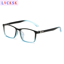 лучшая цена Retro Women Square Eyeglasses Frame Men Myopia Anti blue light blocking Glasses Nearsighted Computer Spectacles -1.0 to -6.0 L3