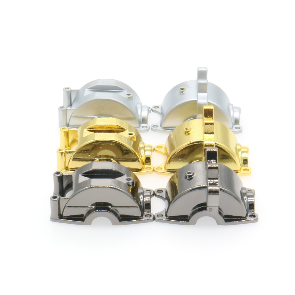 1PC Front/Rear Metal Gear Box Pressure Casting For Rc Hobby Model Car 1/18 Wltoys A959 A969 A979 K929 Hopup Parts Big FootShort wltoys 12428 12423 1 12 rc car spare parts 12428 0091 12428 0133 front rear diff gear differential gear complete