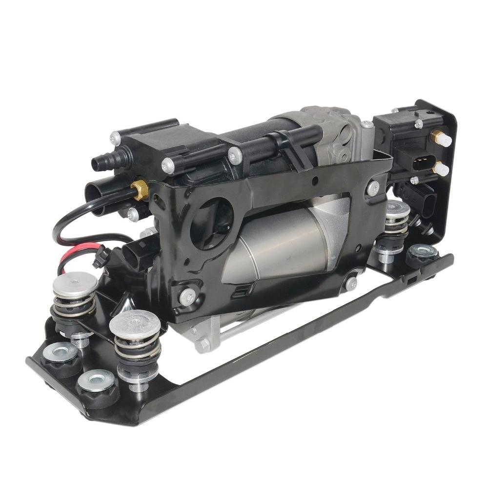 Image 3 - AP03 pompa kompresora zawieszenia pneumatycznego z blokada zaworu + 2 * sprężyna powietrzna dla BMW 5 7 seria F01 F02 F04 F07 GT F11 37206784137Amortyzatory i rozpórki   -