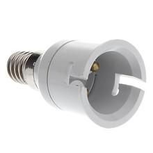 E14 do B22 Adapter konwerter uchwyt żarówki led gniazdo tanie tanio Oprawka converter e14 to b22 plastic