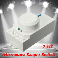 2016 New Excellent Quality 360 Degree120W Microwave Smart Motion Sensor Light Radar Switch Ceiling Recessed Wall