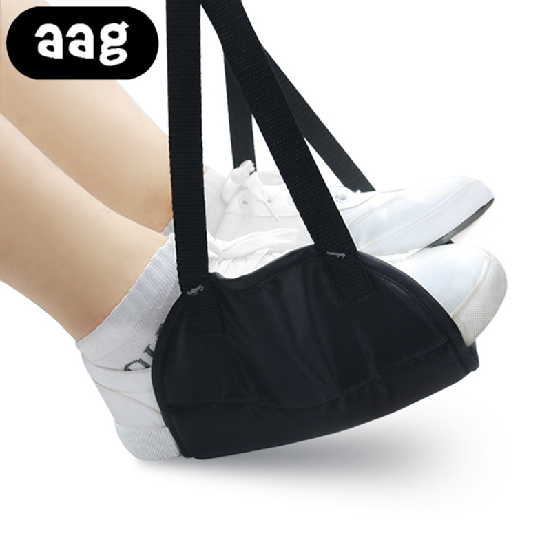 AAG Feet Hammock Foot Chair Care Tool The Foot Hammock Outdoor Rest Cot Portable Office Foot Hammock Mini Feet Rest For Travel