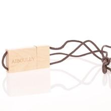 usb flash drive 32gb pen 16GB custom LOGO wood U disk 64gb USB memory 128gb 4GB 8GB wedding gifts with box free ship