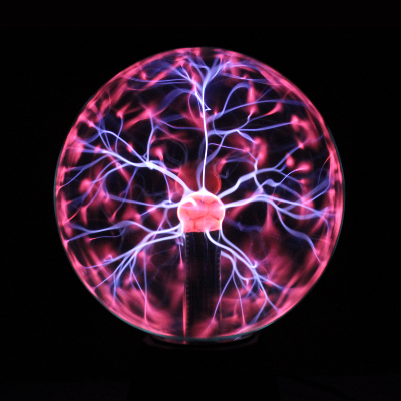 Novelty Household Plasma Ball Lighting lamp Induction Lightning Night Lights Gift For Kids Home Party Bar Indoor Luminaria Decor novelty big size magic plasma ball new