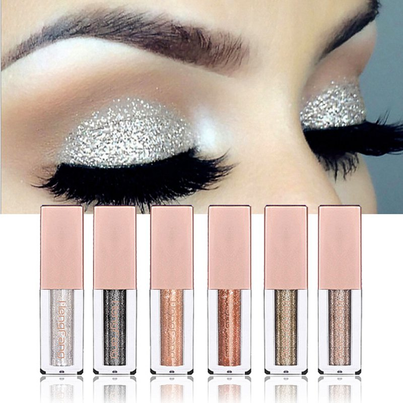 Metal Liquid Eyeshadow Glitter Eye Shadow Liquid Shimmer Stick Beauty Tool Korea Cosmetic Gift For Girl