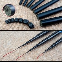 Stream fishing rod Thread FRP Telescopic 1.9m - 5.4m Ultralight Hard Fishing Pole for Freshwater JT-Drop Ship
