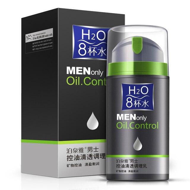 Bioaqua мужчины нефть управления освежающий крем лосьон уменьшить поры ремонт вс акне лечение зима увлажняющий уход за кожей лица красота