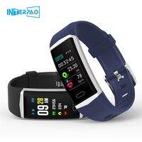 Interpad GPS Smart Bracelet Men Women Sport Smart Watch Heart Rate Tracker Fitness Tracker Smart Wristband For iPhone Huawei