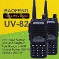 Para baofeng uv-82 8 w irmã uv-82 walkie talkie rádio portátil caminhada talk baofeng uv 82 uv82 bf-a58 uv5r uv-5r gt-3 puxing px-777