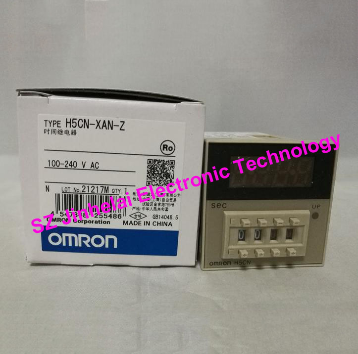 OMRON H5CN-XAN-Z New and original TIME RELAY 100-240VAC все цены