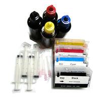 Full Ink Refill Ink Cartridge 950 951 Dye Ink For HP Officejet Pro 8100 8600 8610
