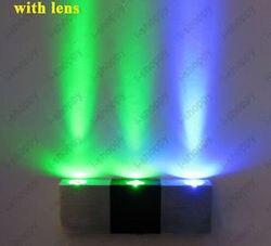 3W High Power zewnętrzna ściana LED ganek Hall światło chodnik żarówka pokój schody domu