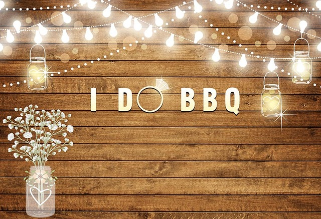 Rustic Wedding Backgrounds For Photography Studio I Do Bbq