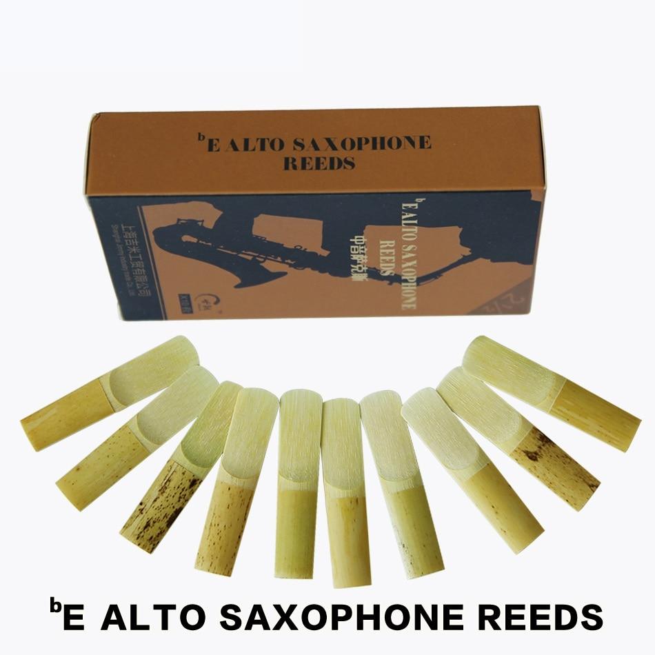 SHINENG 2 1/2 bE Alto Sax саксофон қамысы саксофон аксессуарлары 10pcs / box