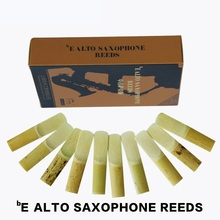 SHINENG 2 1/2 bE Alto Sax Saxophone Reeds Saxfone Accessories 10pcs/box