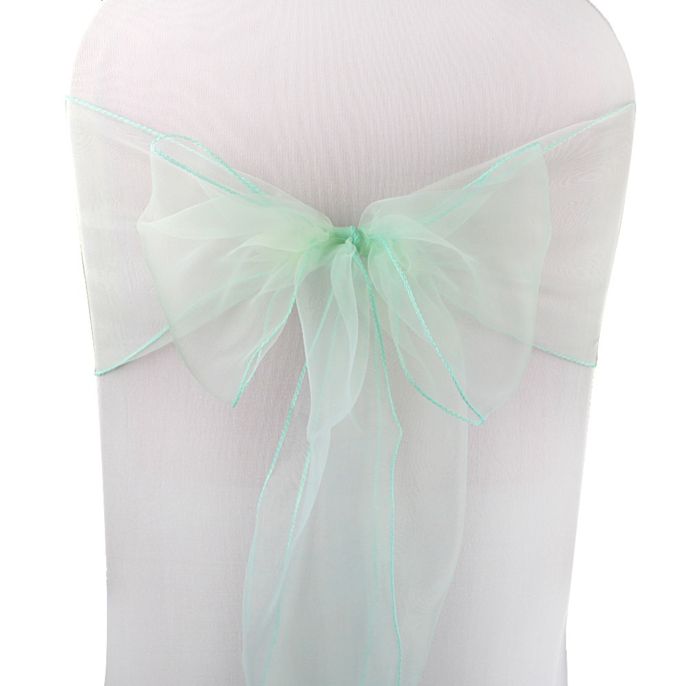 OurWarm, 18x275 см, органза, пояс для стула, бант, Чехол для стула, тюль, для свадьбы, вечеринки, банкета, Рождества, украшение, домашний текстиль