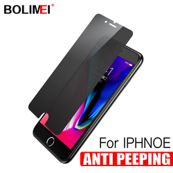 Anti Spy Privacy Tempered Glass For iPhone X Xs Max Xr  Screen Protector Protective Film For iphone 6 6s 7 Plus 8 Plus Glass