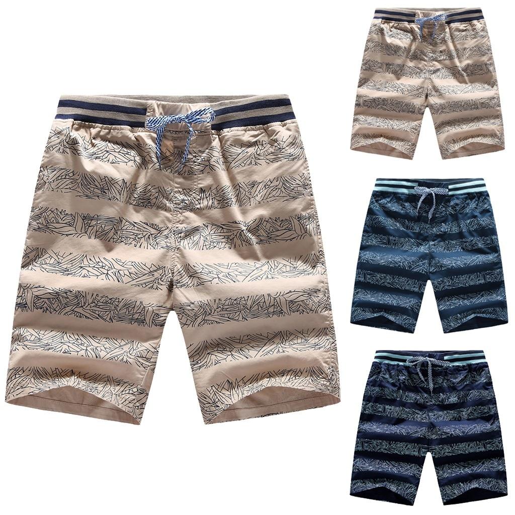 2019 Men's shorts swimming trunks Hawaii quick-drying beach surf running swimming shorts swimwear men's sports shorts 7.12(China)