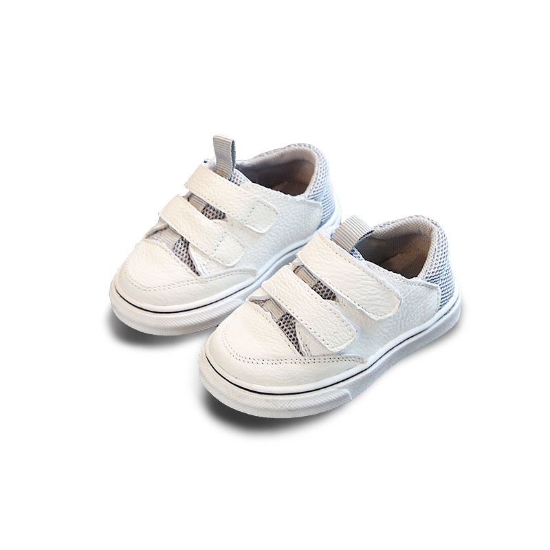 2018 Spring New Children Mesh Shoes Genuine Leather Soft Bottom Infant Toddler Shoes 0-1 Year Old Baby Shoes