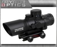 Vector Optics Talos 4x32 Tactical Compact Riflescope Prism Sight Tri Illumination Chevron Reticle M4 AR15 223