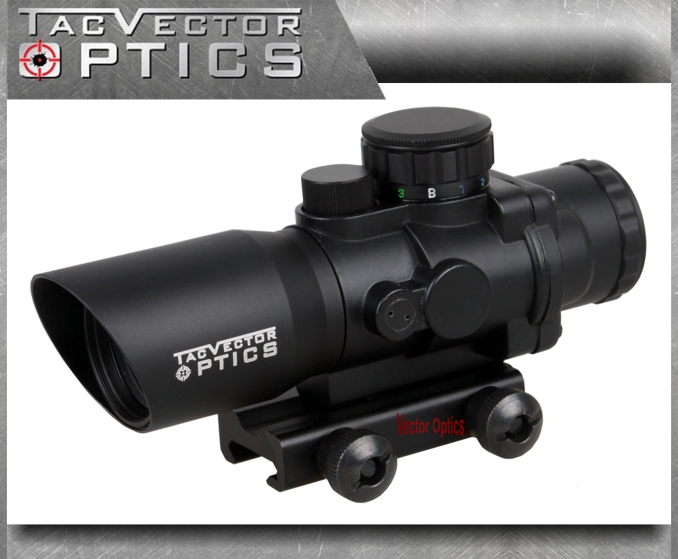 Vector Optics Talos 4x32 Tactical Compact Riflescope Prism Sight Tri-Illumination Chevron Reticle M4 AR15 .223 Scope vector optics tactical g3 h