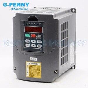 Image 4 - Kit de husillo refrigerado por agua de 2,2 kW, motor de eje de CNC, inversor VFD de 80x230 y 2,2 kW y soporte de 80mm, bomba de agua y 8 uds, pinzas de 0.008mm