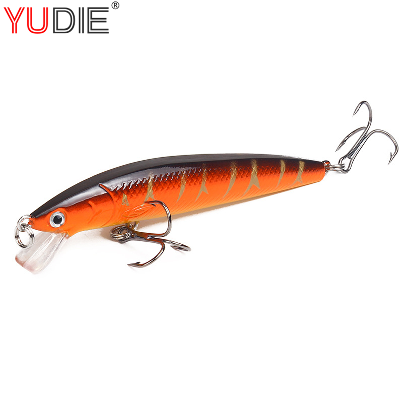 1Pcs Minnow Fishing Lure Hard Bait 3D Eyes 10cm 7g Artificial Baits Jig Wobblers Pikes Fishing Lures for Fly Fishing Crankbaits 5sheets pack 10cm x 5cm holographic adhesive film fly tying laser rainbow materials sticker film flash tape for fly lure fishing