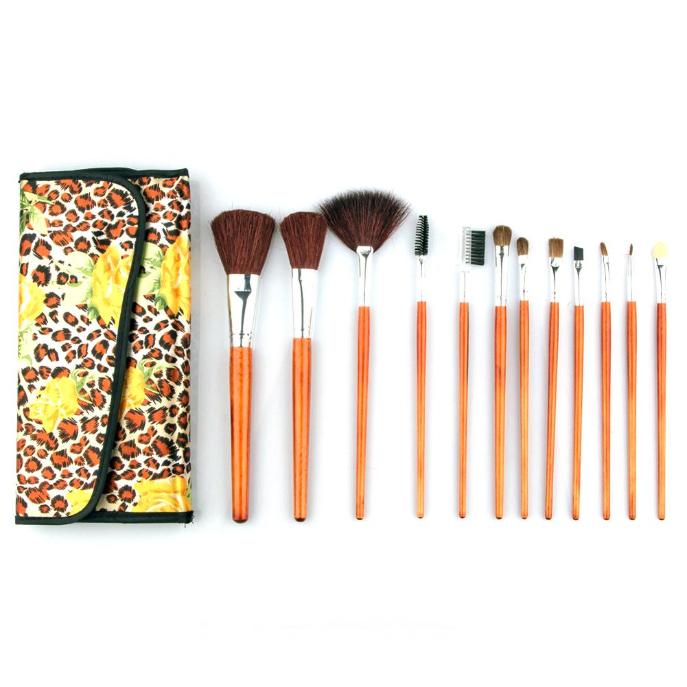 12pcs Makeup Brush Set  Foundation Powder Blush Eyeliner Brushes Professional Cosmetics Makeup set A2