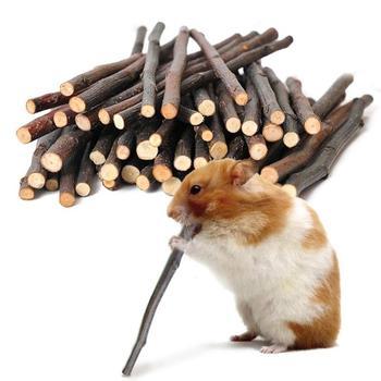 50 g zestaw królik szynszyla świnka morska wiewiórka ugryzienie oddział molowy ptak papuga chomiki gryzaki tanie i dobre opinie wood ZDW7778 Parrot Hamsters Chewing Toys Rabbit Toys Rabbit Chewing Toys