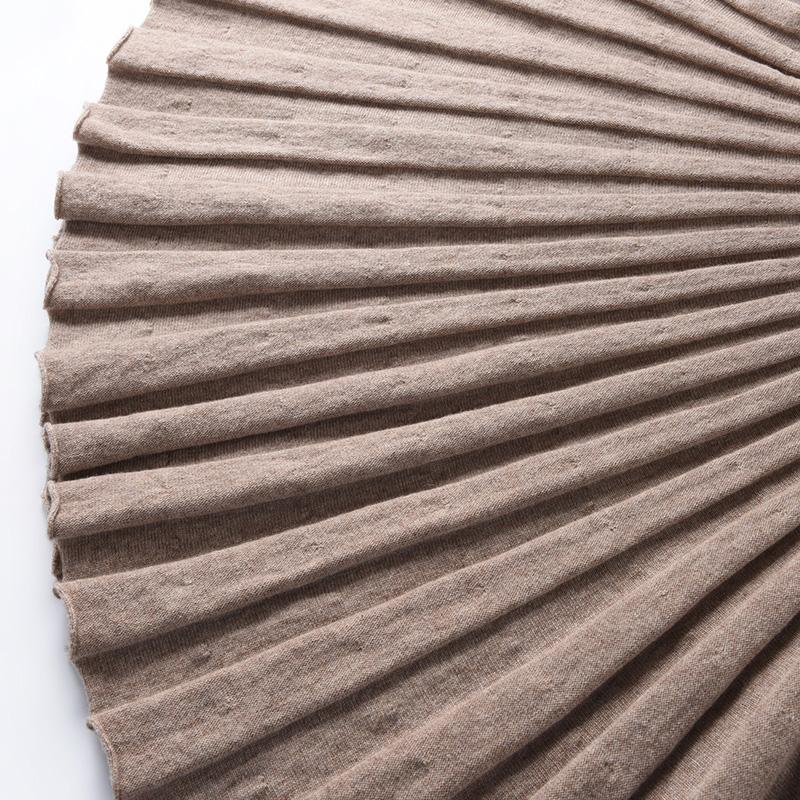 100 Noir Nervuré Femmes À Fine Australien Tricoté Jupe Taille Mi Jupes Laine caramel claf Tricot Noir Ceinture Plissée Hanche Stretch camel FFqgrx