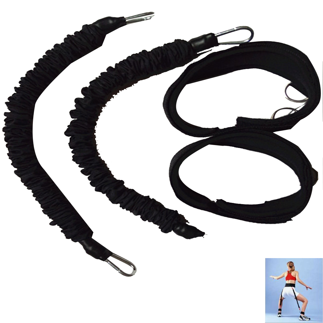 Hot Sell Finger resistance bands Hand Fitness Bounce Trainer Rope Basketball Tennis font b Running b